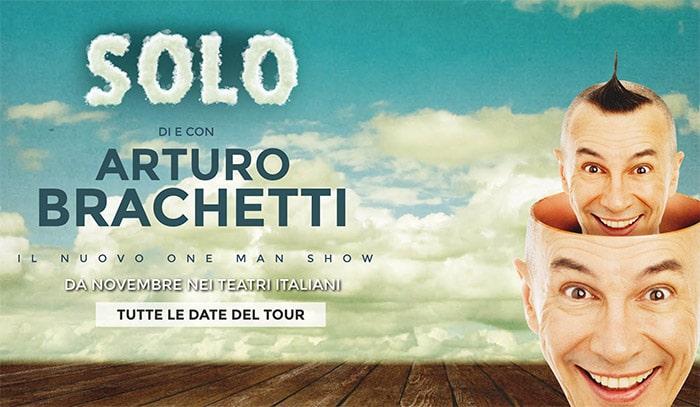 """Biglietti """"Arturo Brachetti"""" Teatro Massimo Palermo 2017"""
