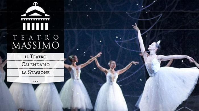 """Biglietti """"Lo Schiaccianoci"""" 2016 Teatro Massimo Palermo"""