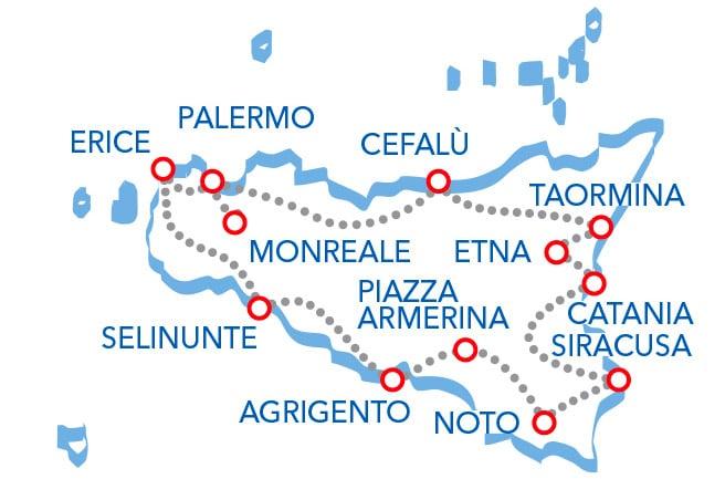 Tour della Sicilia: Cosa Vedere in 30 Giorni?