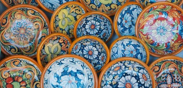 Orecchini Siciliani Mattonelle Ceramica di Caltagirone Amazon