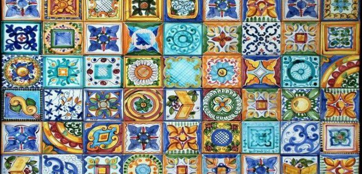 maioliche siciliane e piastrelle di ceramica