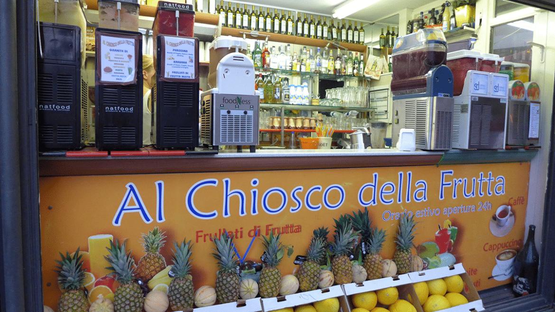 """Il Chiosco della Frutta """"Alla Cala"""" Palermo: Frutta e granite"""