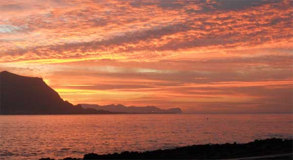 B&B Sul Mare Isola Delle Femmine - Tramonto