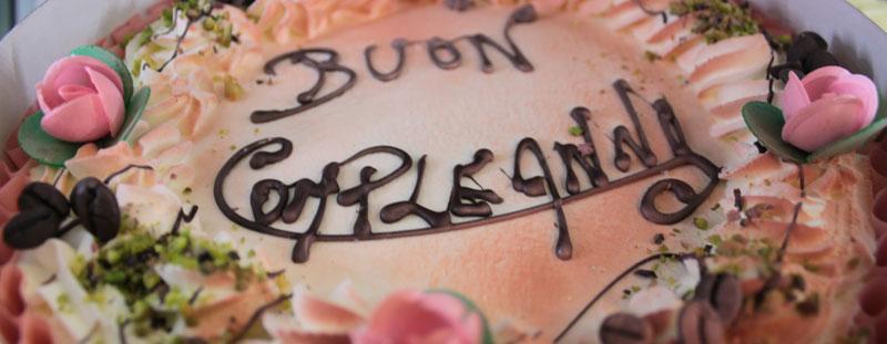 Torta Gelato Compleanno