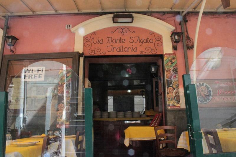 Trattoria Pizzeria Monte Sant'Agata Catania