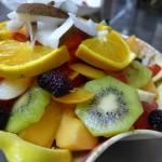 Chiosco della frutta alla Cala - Piatti frutta