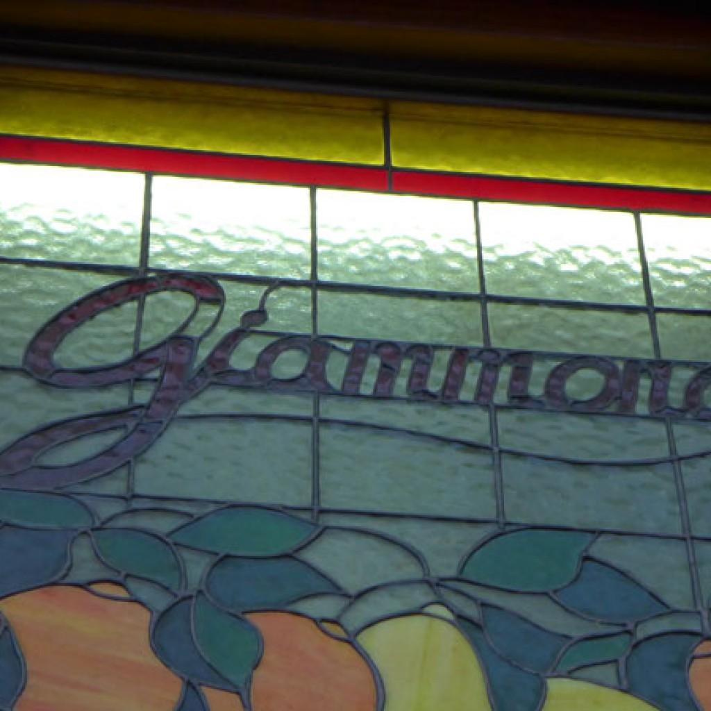 Insegna Chiosco Giammona