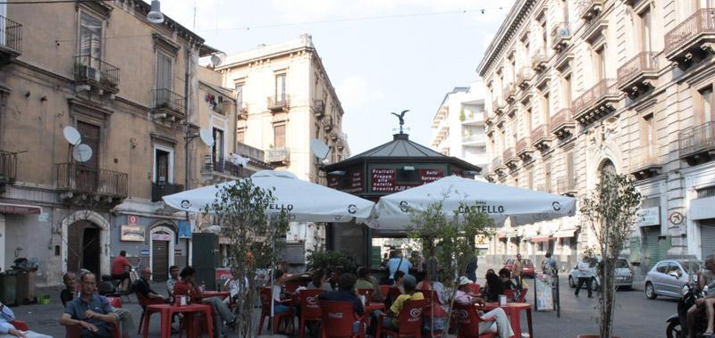 Chiosco Hollywood Catania Famiglia Falco