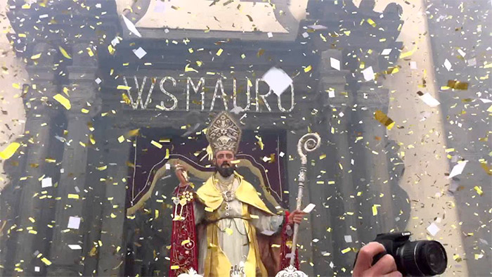 Festa di San Mauro Abate in Viagrande - Gennaio 2016