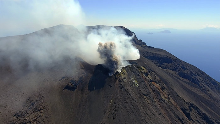 Isole Eolie Video Drone 4K Nicolò Piccione