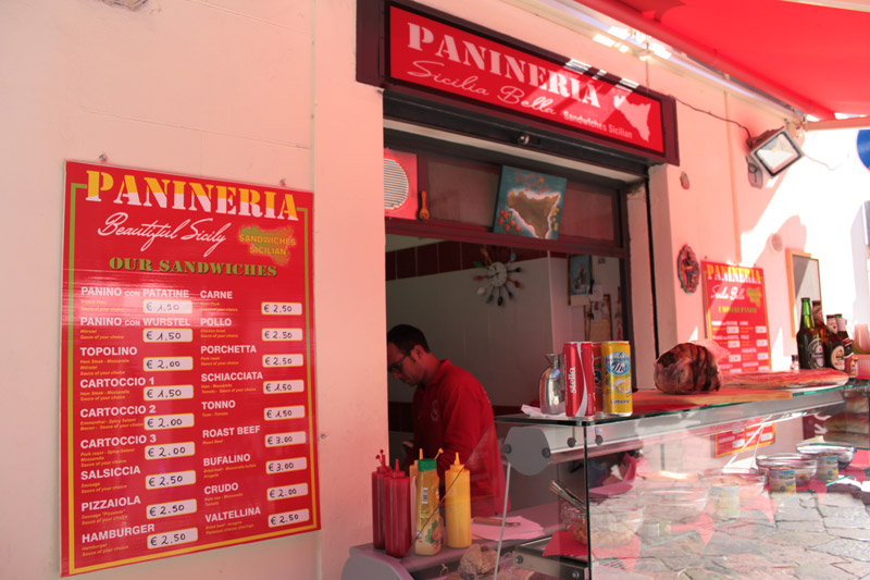 Panineria Sicilia Bella Palermo - Panini con panelle e crocchè