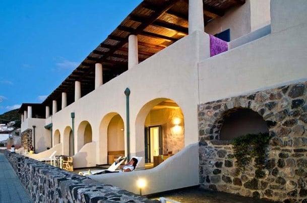 Casa Vacanze Nerossidiana Lipari - Terrazzino